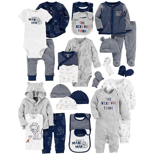 d498dae87 Baby Boy Carter's Lion Mix & Match Collection