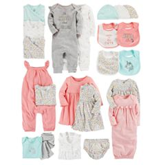 Baby Girl Carter's Floral Mix & Match Collection