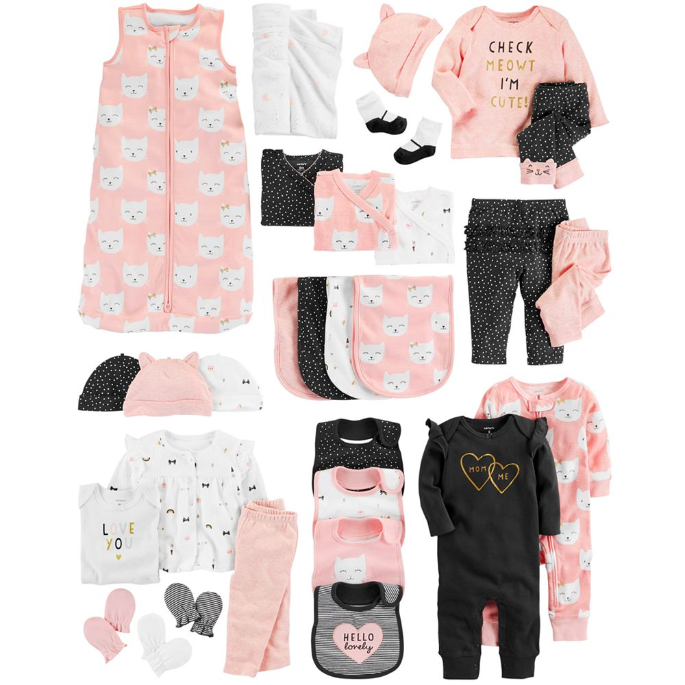 af0faed97 Baby Girl Carter's Cat Mix & Match Collection