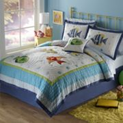 PEM America Colorful Sea Quilt Set