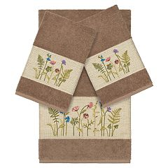Linum Home Textiles Serenity Embellished Bath Towel Collection