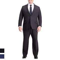 Big & Tall Active Series Classic-Fit Herringbone Suit Separates