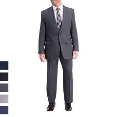 Men's Haggar Travel Performance Tailored Fit Stretch Suit Separates