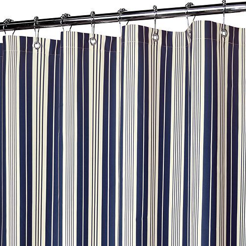 Park B Smith Picardi Striped Shower Curtains