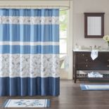 Madison Park Callia Printed Shower Curtain Collection