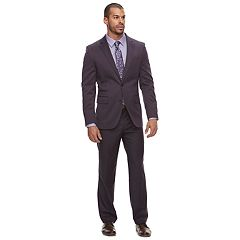 Men's Savile Row Modern-Fit Purple Suit Separates