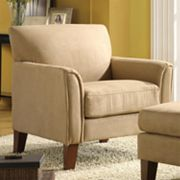 HomeVance Chair and Ottoman Collection