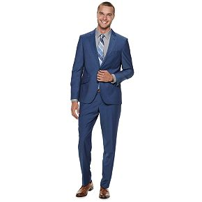 Men's Savile Row Modern-Fit Blue Suit Separates