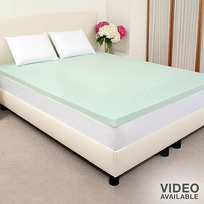 ViscoFresh 2-in. Memory Foam Mattress Topper