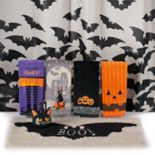 Celebrate Halloween Together Glowing Bats Shower Curtain Collection