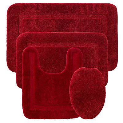 Croft and Barrow Solid Bath Rugs