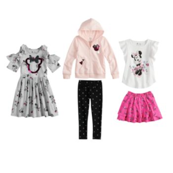 Disney's Minnie Mouse Girls 4-7 Mix & Match Outfitsby Jumping Beans®