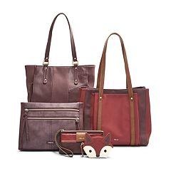 Relic Red & Purple Handbag Collection