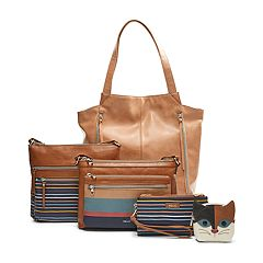 Relic Fall Stripe Handbag Collection