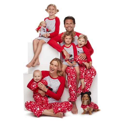 Disney's Mickey & Minnie Mouse Matching Family Pajamas by Jammies For Your Families