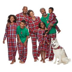 Jammies For Your Families Plaid Flannel Matching Family Pajamas
