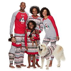 jammies for your families polar bear fairisle family pajamas by cuddl duds