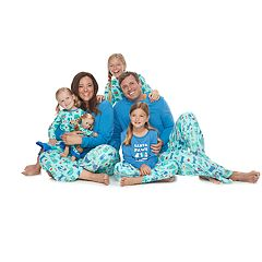 Jammies For Your Families Santa Paws Matching Family Pajamas