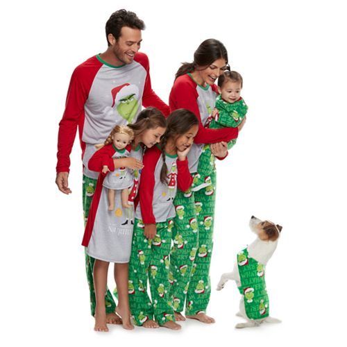 jammies for your families how the grinch stole christmas matching family pajamas - Family Pajamas Christmas
