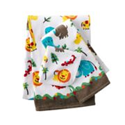 Jumping Beans Safari Bath Towels
