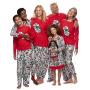 "Jammies For Your Families ""Ho Ho Ho!"" Comic Book Matching Family Pajamas"