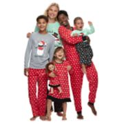 Jammies For Your Families Snowman & Snowflakes Matching Family Pajamas
