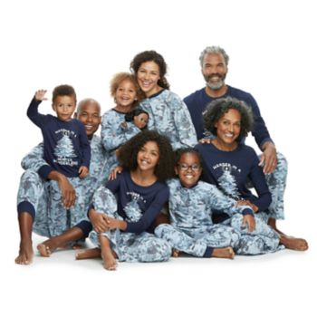 Jammies For Your Families Holiday Camouflage Matching Pajamas