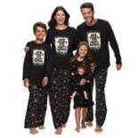 Jammies For Your Families New Year's Eve Matching Family Pajamas