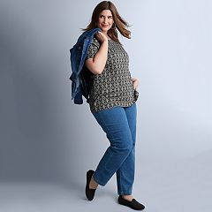 Plus Size Croft & Barrow® Summer Outfit