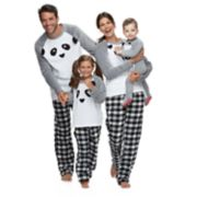 Jammies For Your Families Panda Bear Matching Family Pajamas