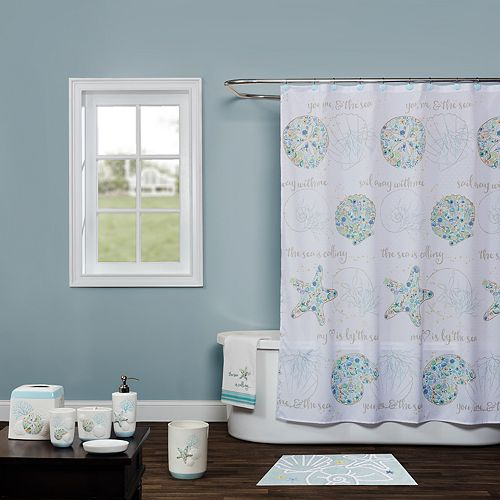 Saturday Knight Ltd Seaside Shower Curtain Collection