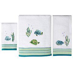 Saturday Knight, Ltd. Atlantis Bath Towel Collection