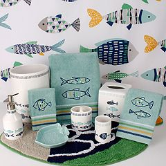 Saturday Knight, Ltd. Wave Runner Bath Accessories Collection