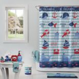 Saturday Knight, Ltd. Set Sail Shower Curtain Collection