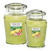Yankee Candle simply home Pineapple Palm Jar Candles