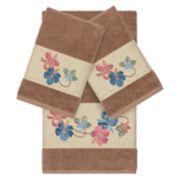 Linum Home Textiles Turkish Cotton Caroline Embellished Bath Towel Collection