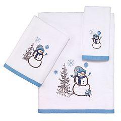 Avanti Let it Snow Bath Towel Collection