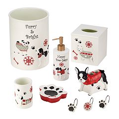 Avanti Happy Paw-lidays Bath Accessories Collection