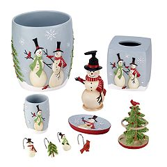 Avanti Tall Snowmen Bath Accessories Collection