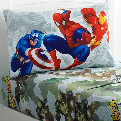 Marvel Heroes Sheet Set