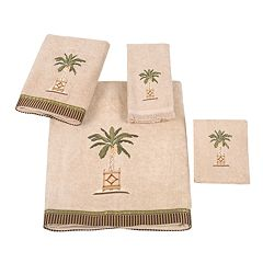 Avanti Banana Palm Bath Towels