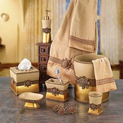 Avanti Braided Medallion Bathroom Accessories Collection