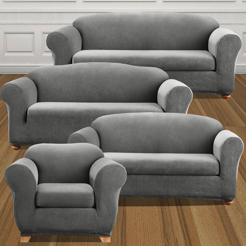 sofas slipcovers home decor kohl s rh kohls com Shabby Chic Sofa Slipcovers Sofa Slipcovers with Separate Cushion Covers