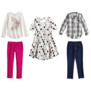 Disney & Jumping Beans® Girls 4-7 Mix & Match Outfits