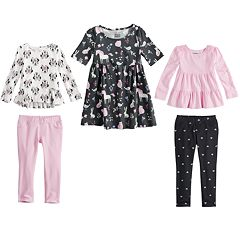 Disney & Jumping Beans® Toddler Girl Mix & Match Outfits