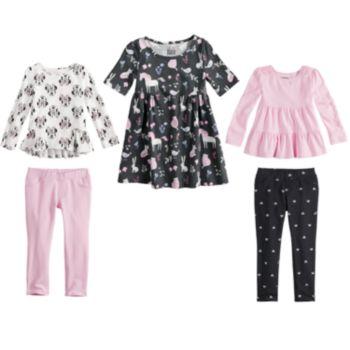 Disney & Jumping Beans® Toddler Girl Mix & Match Outfits