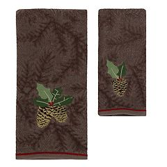 St. Nicholas Square® Christmas Traditions Pinecone Bath Towel Collection
