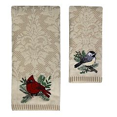 St. Nicholas Square® Christmas Traditions Bird Bath Towel Collection