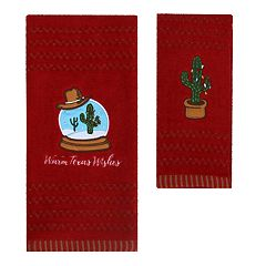 St. Nicholas Square® Christmas Traditions Cactus Bath Towel Collection