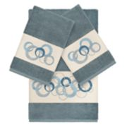 Linum Home Textiles Turkish Cotton Annabelle Embellished Bath Towel Collection